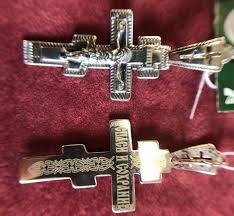 silver cross pendant 202177