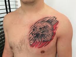 татуировки мужские на груди от мастеров Piglatattoo Studio днепр