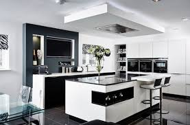 ... Phenomenal Kitchen Design Black And White Gorgeous Designs For Every  Modern Home On Ideas ...