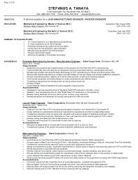 Manufacturing Engineer Resume Sample manufacturing engineer resume samples - April.onthemarch.co
