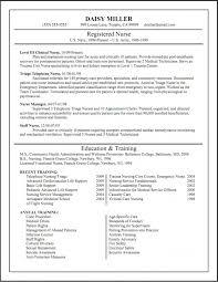 Gallery Of Resume For Nursing School Application Samples Of Resumes