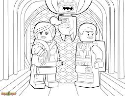 Small Picture The LEGO Movie Coloring Page LEGO Wyldstyle Emmet Batman