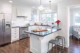 galley style kitchen custom home design