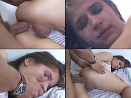 Girl cries when doing anal