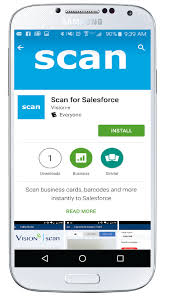 C Install The Business Card Scanning App On My Phone