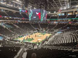 Milwaukee Bucks Detailed Seating Chart Bucks Seating Chart Seating Chart