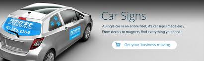 Automobile For Sale Sign Car Signs Custom Car Signs For Business Advertising