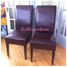 reupholstering a dining chair. DIY: Re-Upholster Your Parsons Dining Chairs (Tips From A Pro) Reupholstering Chair S
