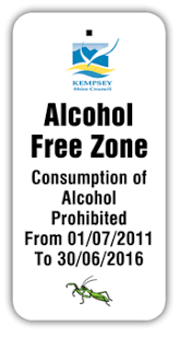 Alcohol Prohibited Areas And Alcohol Free Zones Kempsey Shire Council