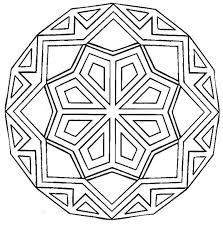Small Picture Simple Mandalas To Color Good Coloring Simple Mandalas To Color at