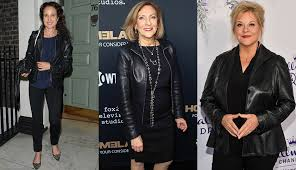 leather jackets fitting women perfectly