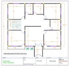 do autocad 2d floor plan