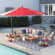 patio netting umbrellas round cantilever patio umbrella patio umbrellas at hayneedle