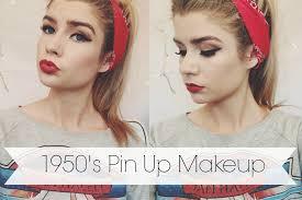 1950 s pin up makeup tutorial