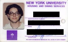 Nyu 1989 1989 Nyu From Card Card Nyu From Card From