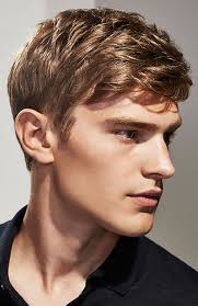 men s clic side swept fringe haircut
