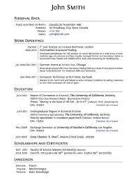High School Resume Examples Best Sample Resume For High School Graduate With No Work Experience