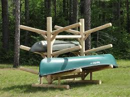 6 place kayak rack double sided kayak