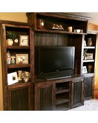 Entertainement Centerrustic Tv Standmedia Consoletv Consolemedia Wall Unit