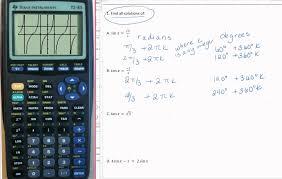 solving trig equations all solutions