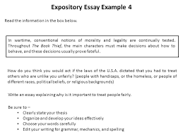 a word from the state a word from the state ppt video online  expository essay example 4