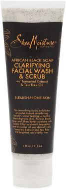 Shea Moisture African Black Soap Problem Skin <b>Facial Wash</b> ...
