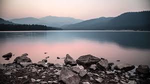 Mountain Lake Wallpaper 4k