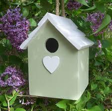 Birdhouse Handmade Hanging Bird House By The Painted Broom Company
