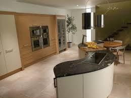 modern curved kitchen island. Style: Modern Curved Kitchen Island