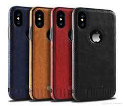 for iphone x iphone8 7 plus leather case samsung galaxy s8 plus s7 s7 edge s6 stitching tpu protection cell phone cases cell phone covers phone cover from
