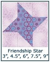 Free Quilt Block Patterns Library & ... Friendship Star quilt block tutorial ... Adamdwight.com