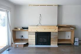 how to build shelves next to fireplace fireplace built in shelving 3 via the sweetest digs how to build shelves next to fireplace