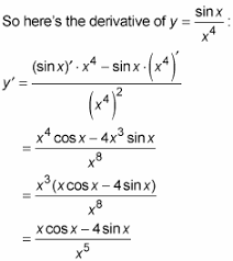 How To Find Derivatives Using The Product And Quotient Rules Dummies