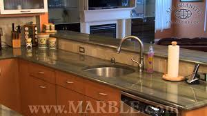 Granites For Kitchen Verde Sequoia Granite Kitchen Countertops By Marblecom Youtube