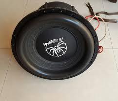 Bajo Soundstream Xxx 15 Pulgadas 4 Bobinas 1ohm 8500w Kicker Bs.