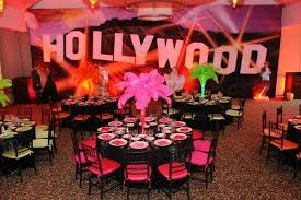 hollywood event decor al by themers