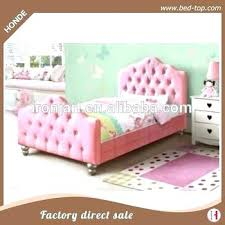 twin size beds for s pink bed princess leather frame y kid