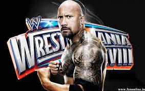 The Rock на Wrestlemania татуировка Dwayne Johnson фото по Janessa