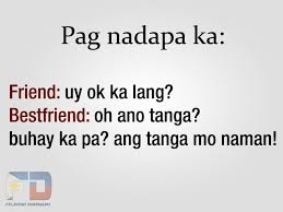 Friend VS Bestfriend Pinoy Pinterest Friends Tagalog And Fascinating Quotes Dear Friend Tagalog