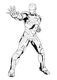 Small Picture Iron Man Coloring Pages olegandreevme