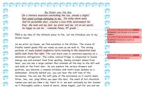 d a t a scholars dream house descriptive essays  to ask her questions while she wrote encouraging messages back to students see creative imaginations transformed into writing in the images below
