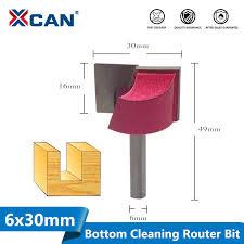 <b>XCAN</b> 1pc 30mm <b>Bottom Cleaning</b> Engraving Bits 6mm Shank ...