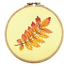Embroidery Chart Counted Cross Stitch Pattern Embroidery Chart Pdf Leaves Of