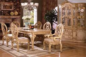 white washed dining room furniture.  Washed Tuscany Antique White Wash Formal Table Set For 8  Intended Washed Dining Room Furniture S
