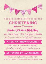Do It Yourself Baptism Invitation New Free Baptism