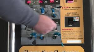 Vending Machines That Buy Cell Phones Inspiration Cell Phone Recharger Vending Machines Stock Video © Dtiberio