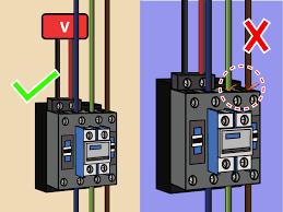 contactor relay wiring wiring diagram mega