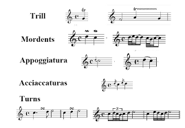 A trill is a short musical action, or 'ornament', whereby a musician quickly alternates between two notes; Music Theory Ornaments And Embellishments Ask Audio