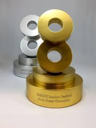 Bespoke Award Design Eight Aluminium Ring Award Awards Trophy Design Rings