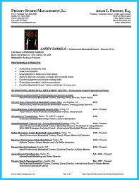 Coaching Resume Samples awesome Captivating Thing for Perfect and Acceptable Basketball 20